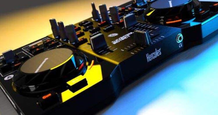 Mesa de mezclas hercules consola dj