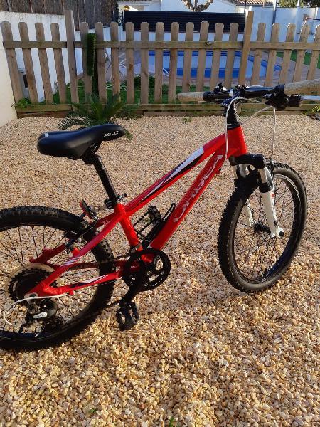 """Mountain bike niño 20"""""""