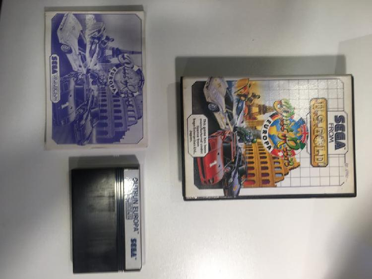 Out run europe sega master system ii