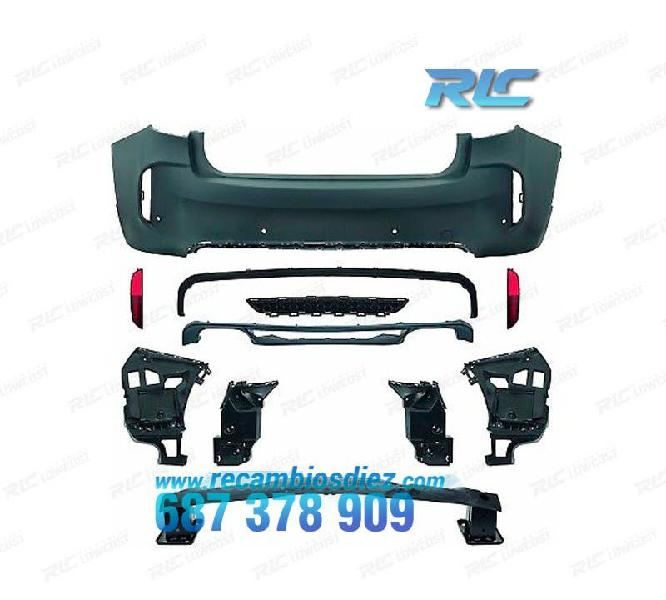 Paragolpes trasero bmw x6 f16 14- pdc look x6m