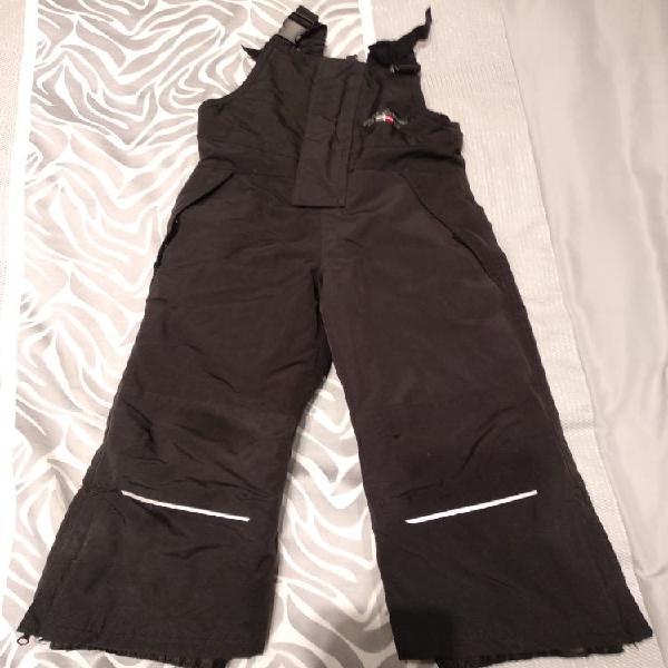 Pantalón peto nieve niño o niña talla 3-5 años