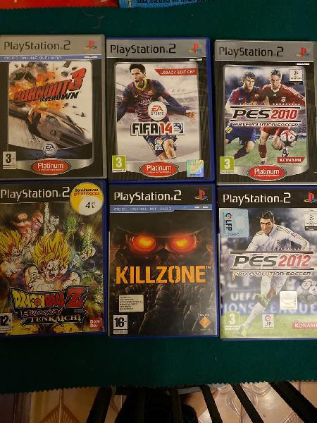 Play station 2 juegos