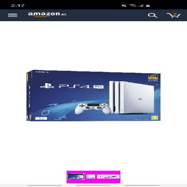 Playstation 4 pro 2tb 5.05 (nueva)