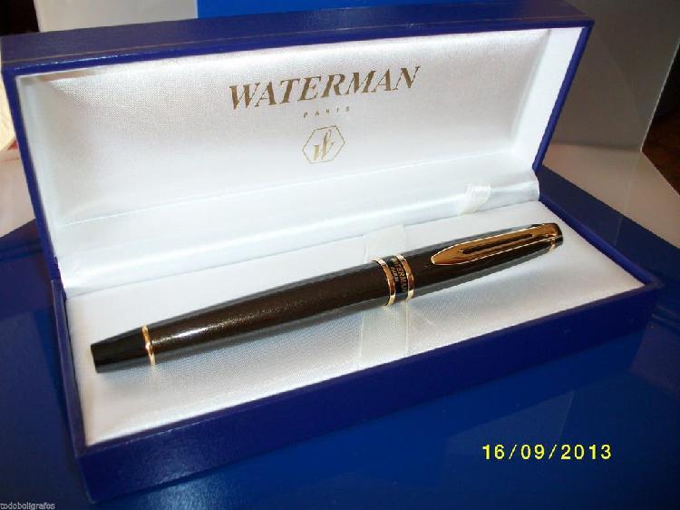 Pluma estilografica waterman expert ii laque brown