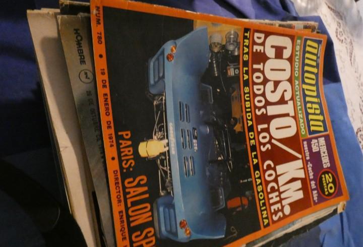 Revista autopista 780 19 enero de 1974 costo de km por todos