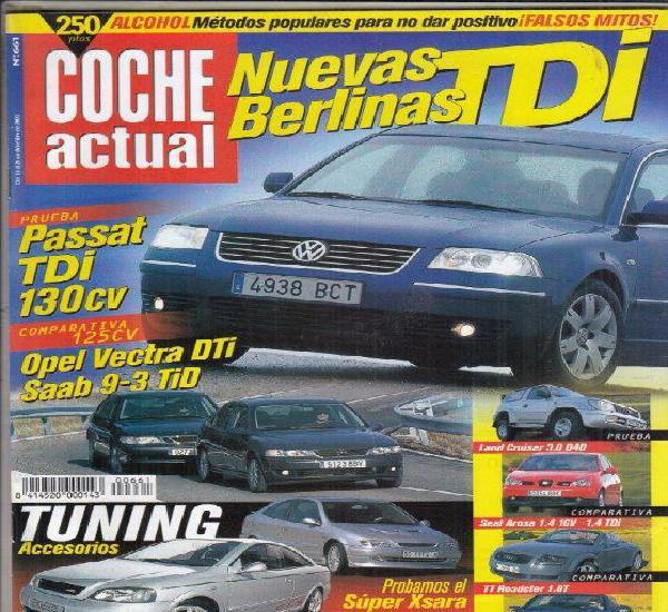 Revista coche actual nº 661 año 2000. pru:vw passat 1.9