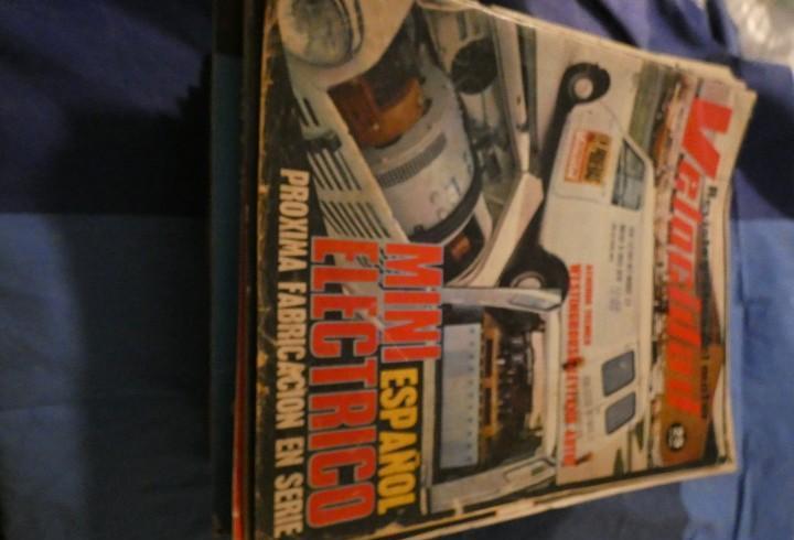 Revista grafica del motor velocidad 602 mini electrico