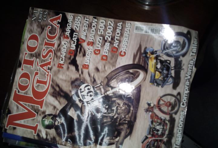 Revista sobre motos antiguas moto clasica 1 ricardo fargas