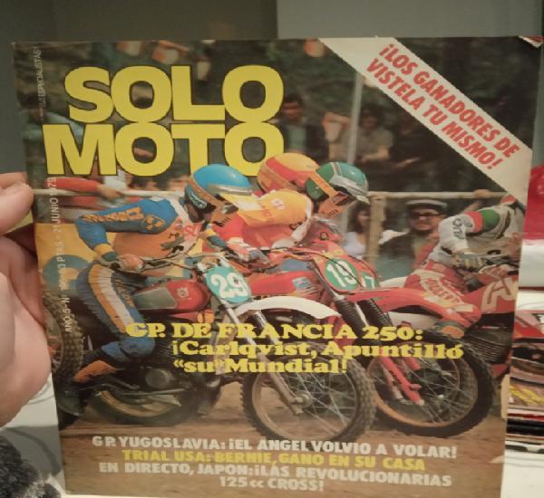 Revista solo moto - nº 196 - 21 junio 1979.