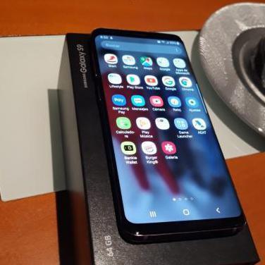 Samsung s9 caja y factura funda led