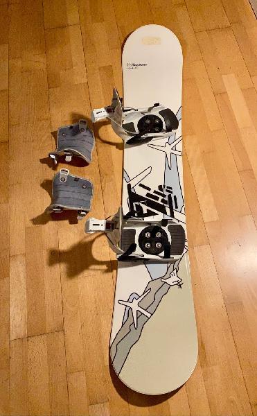 Snowboard duotone 160 + fijaciones flow pro fr