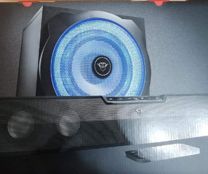 Tytan 2.1 trust gxt 668 soundbar & subwoofer