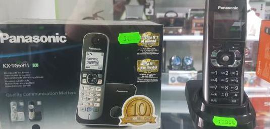 Teléfono fijo panasonic kx - tg6811