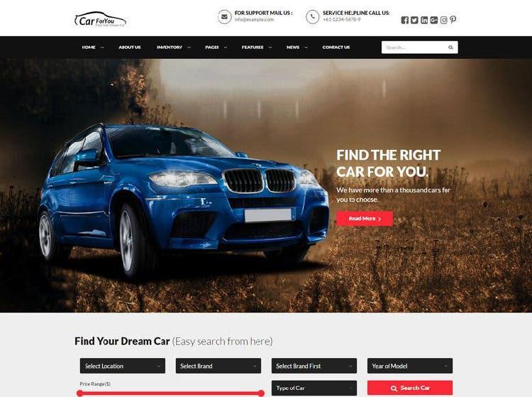 Tienes un concesonario auto? pagina web
