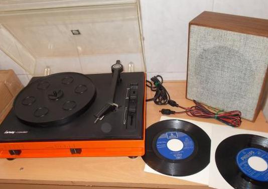 Tocadiscos lansay vintage 1978