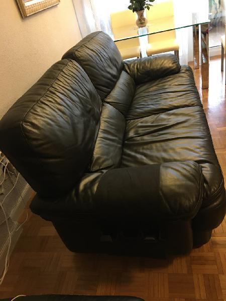 Vendo sofá de cuero