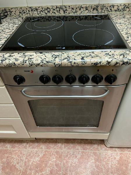 Vitro cerámica y horno fagor acero