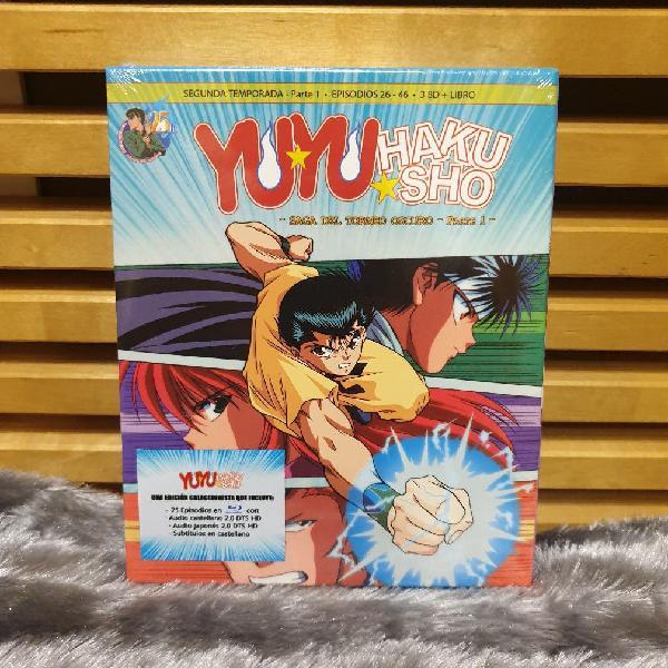 Yuyu hakusho box 2 bluray (precintada)