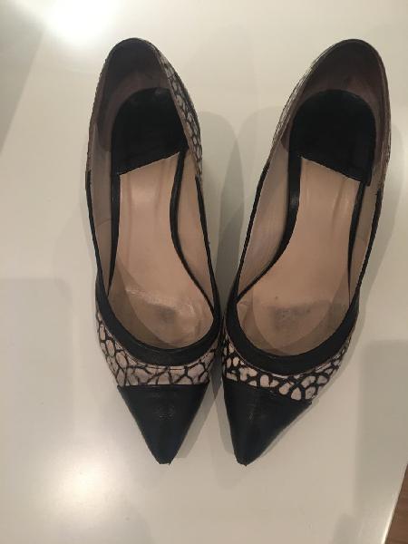 Zapatos leie piel diseño