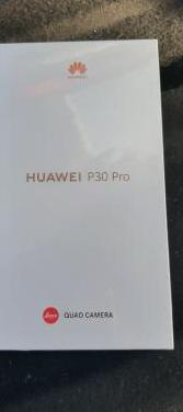 Huawei p30 pro 256g nuevo sin uso factura