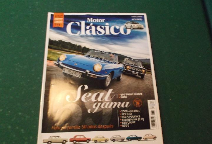 Motor clasico nº 369,dossier seat gama,alfa romeo