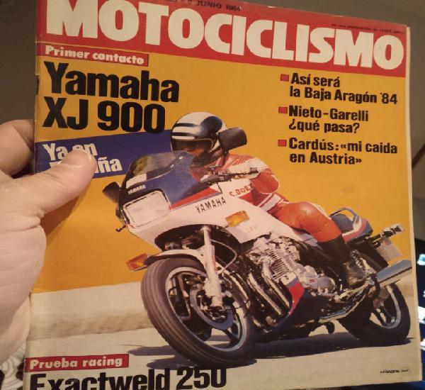 Revista motociclismo nº numero 856 de junio de 1984 suzuki