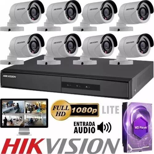 Sistema video vigilancia 8 camaras, oferta