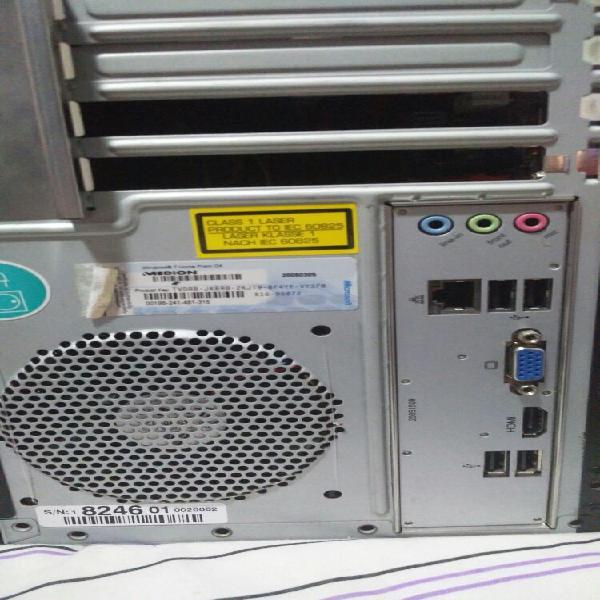 Torre con i3 2120 socket 1155 y 6gb ddr3