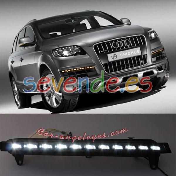Audi q7 luz dia con intermitente en led