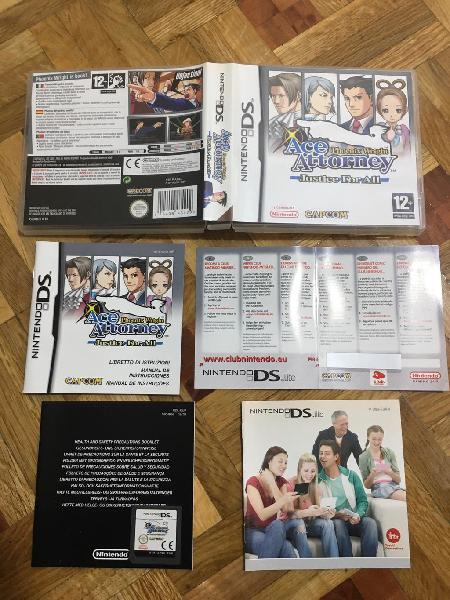 Ace attorney justice for all impoluto