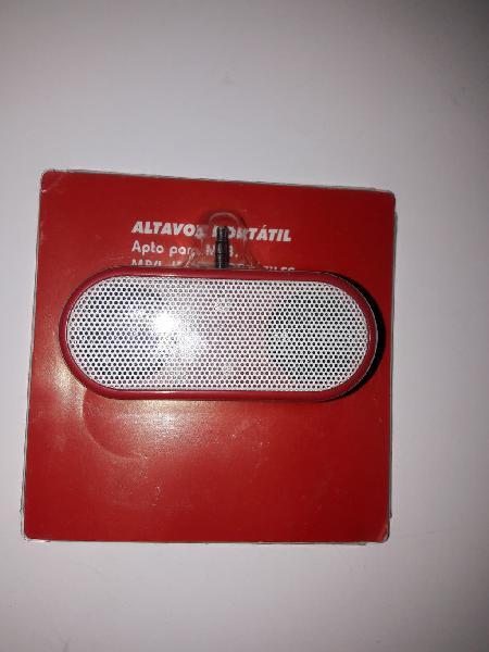 Altavoz portátil conector jack