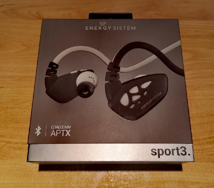 Auriculares deportivos energy system earphones.new