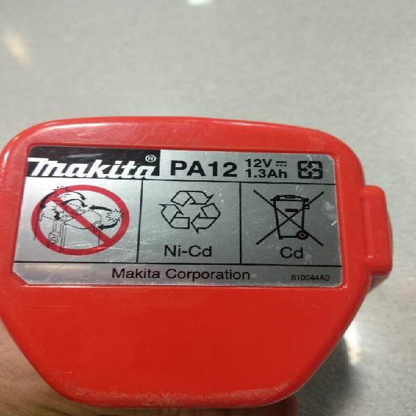 Batería makita pa12 12 v / 1.3 ah