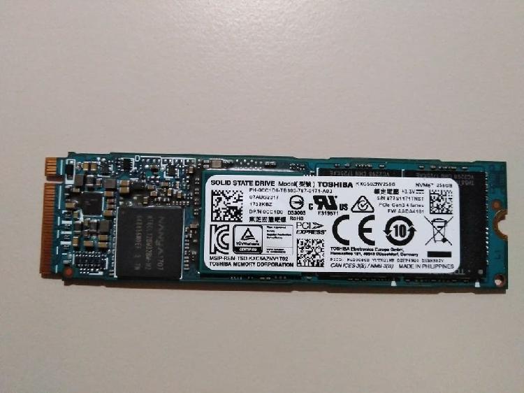 Disco duro ssd 256 gb m.2 nvme