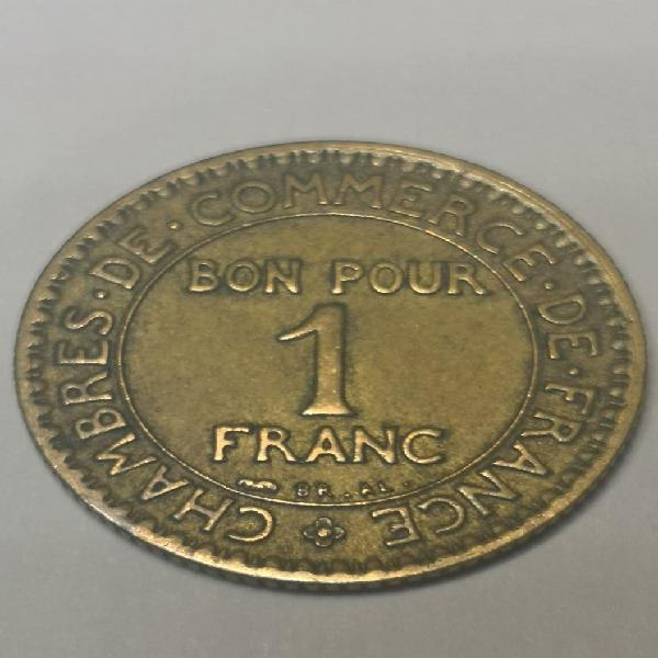 Francia 1 franco 1923