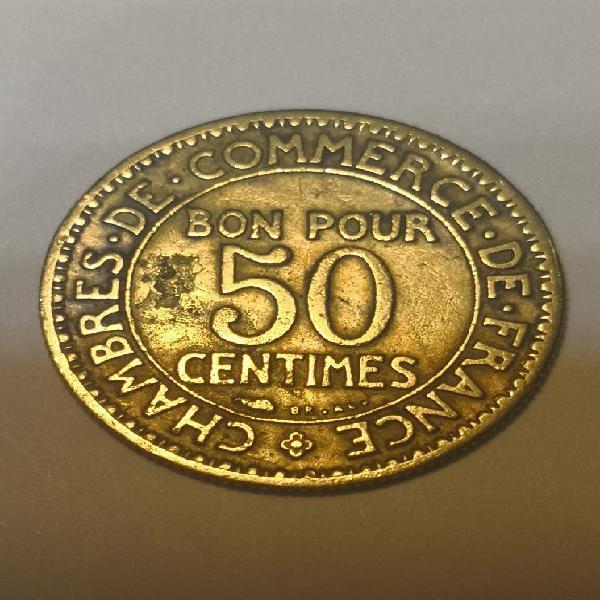 Francia 50 céntimos 1922