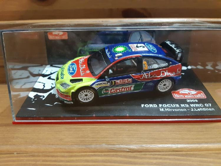 Ford focus rs wrc 07 (1/43)