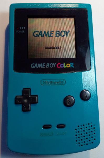 Game boy color nintendo