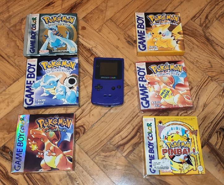 Gameboy color y accesorios