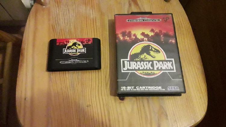 Jurassic park mega drive
