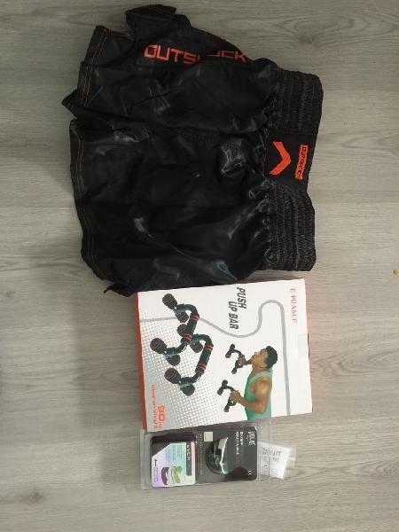 Kit de entreno / pantalón boxeo / protector bucal