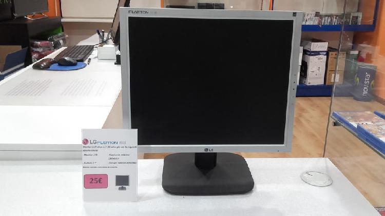Monitor lcd lg flatron l1718s