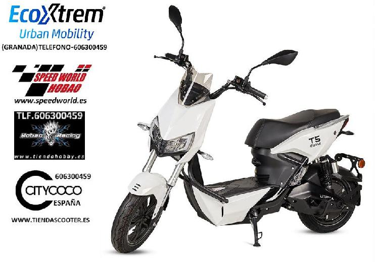 Moto eléctrica matriculable 1500w mod.t5