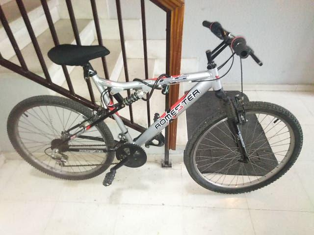 Mountain bike de aluminio