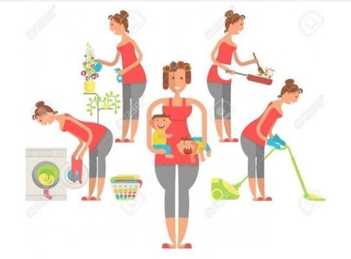 Niñera,limpiadora, cocinera...