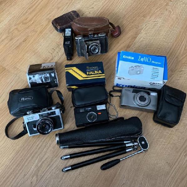 Pack de cámaras de fotos antiguas