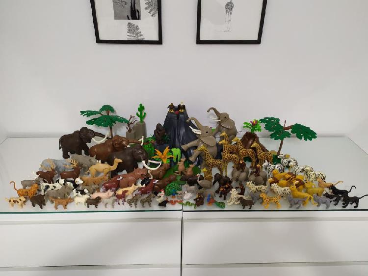 Playmobil lote animales