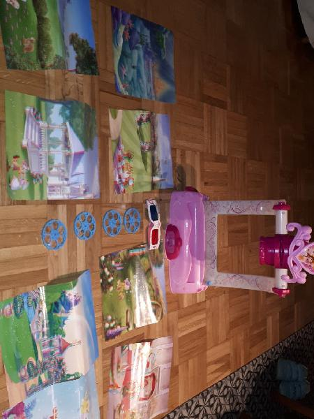 Proyector princesas disney