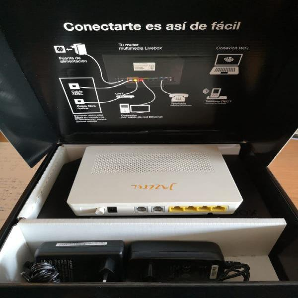 Router dual band jazztel