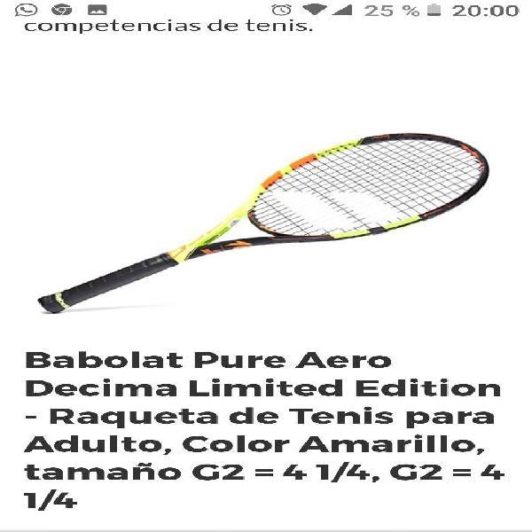 Raqueta babolat pure aero decima limited